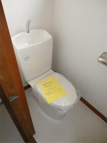 つくし 201号室のトイレ