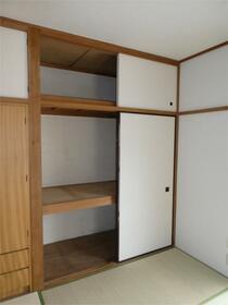 つくし 201号室の収納