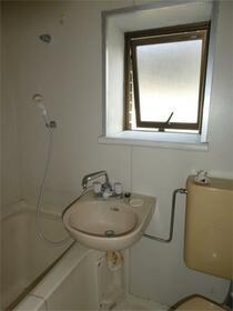 ハイツスズキ 103号室の洗面所