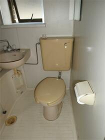 ハイツスズキ 103号室のトイレ