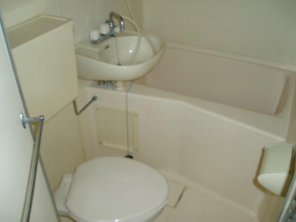 スカイコート高砂 307号室の風呂