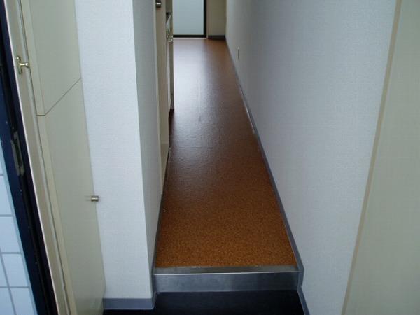 スカイコート高砂 307号室の玄関