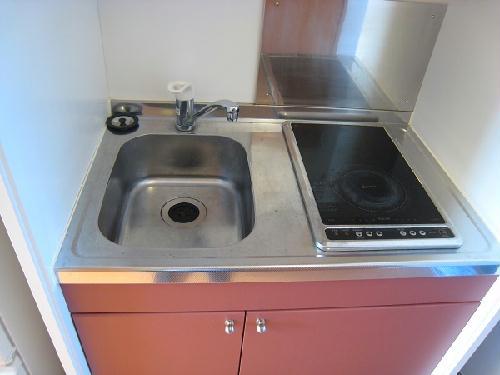 レオパレスさくらハイム 104号室のキッチン