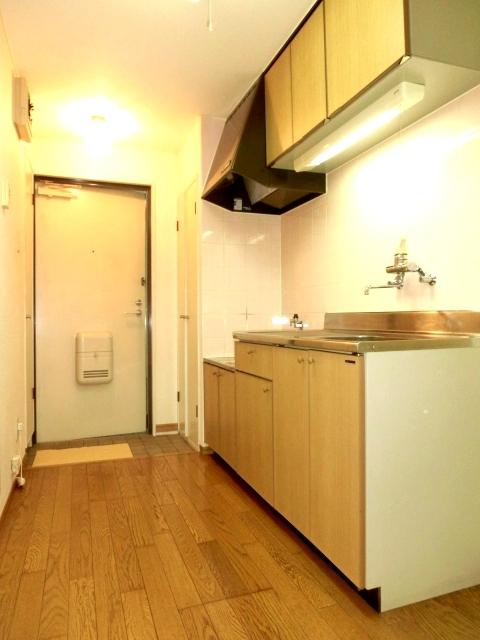 モデーロ花栗 205号室のキッチン