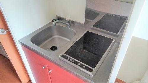 レオパレスレスポワール 206号室のキッチン