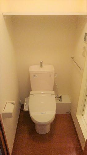 レオパレスレスポワール 206号室のトイレ