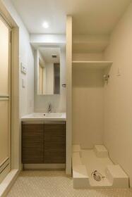 ジェノビア両国Ⅳスカイガーデン 901号室の洗面所