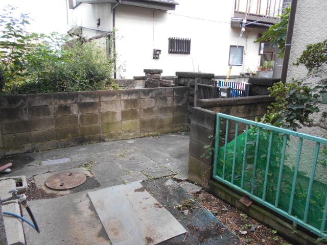 柴田貸家の庭