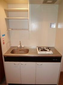 片岡ビル 201号室のキッチン