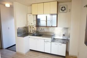 伊藤中央マンション 205号室のキッチン