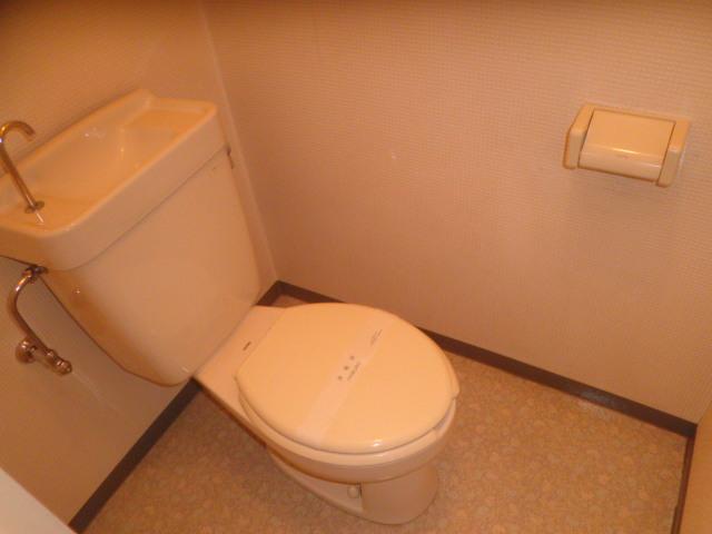 第二パーク越谷 301号室のトイレ