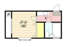 武里スクエア・0203号室の間取り