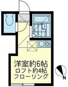 ユナイト和田町エルグレコの杜 102号室の間取り