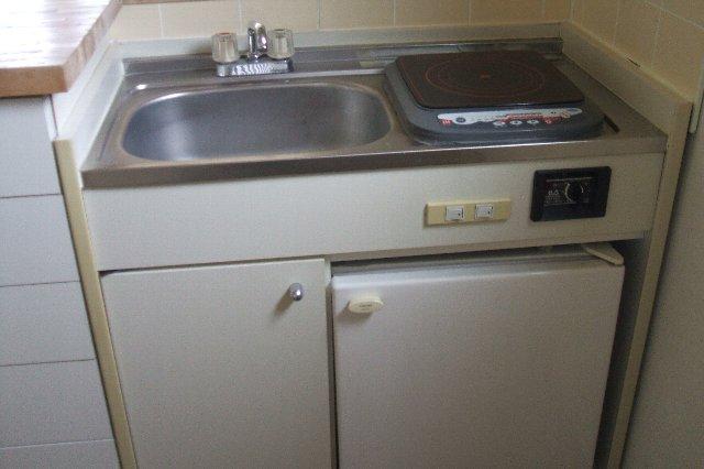 ライフパル 312号室のキッチン