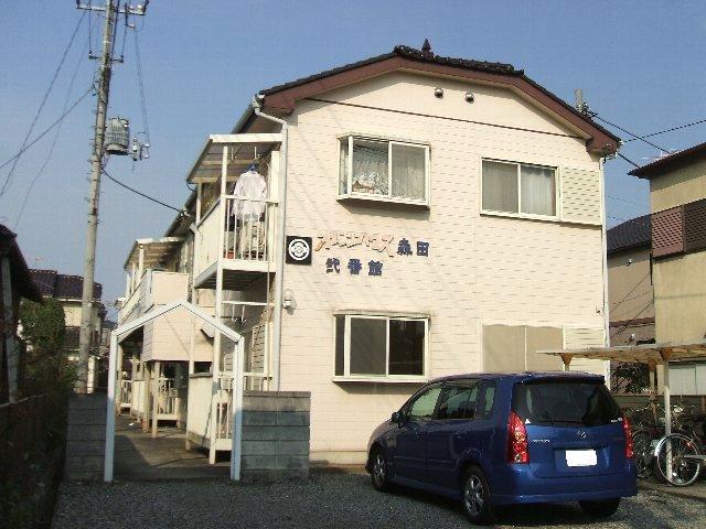 オレンジハウス森田弐番館 203号室の外観