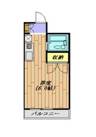 リバーガーデン 205号室・205号室の間取り