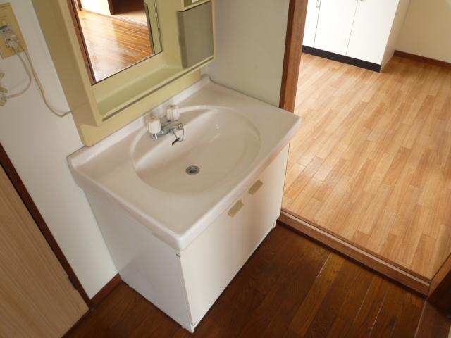 キャピタルハイツⅠ 101号室の洗面所