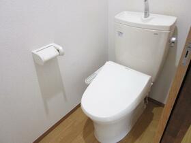 深雪アパート 2F号室のトイレ