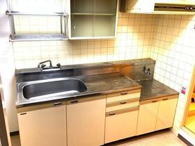 朝日プラザ越谷第Ⅱ 503号室のキッチン