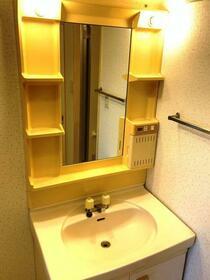朝日プラザ越谷第Ⅱ 503号室の洗面所