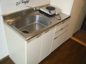 吉川サンパレス 210号室のキッチン
