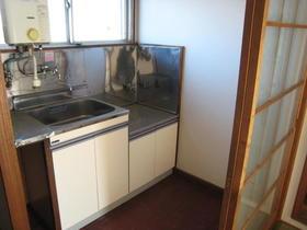 鈴木マンション 202号室のキッチン
