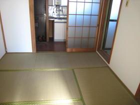 鈴木マンション 202号室のベッドルーム