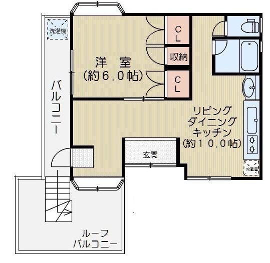 ヨコヤマビル 501号室の間取り