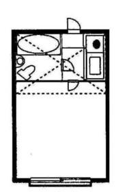 プラザ ドゥ トゥイル・102号室の間取り