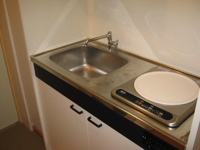 APARTMNET α 102号室のキッチン