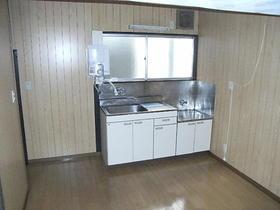 丸一荘 201号室のキッチン