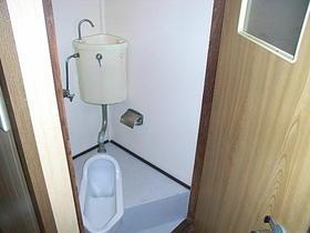 丸一荘 201号室のトイレ