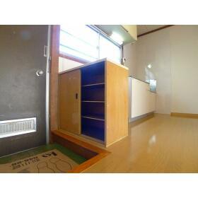 菅野ハイツ 101号室の玄関