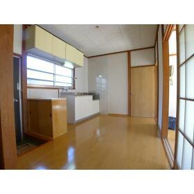 菅野ハイツ 101号室のキッチン