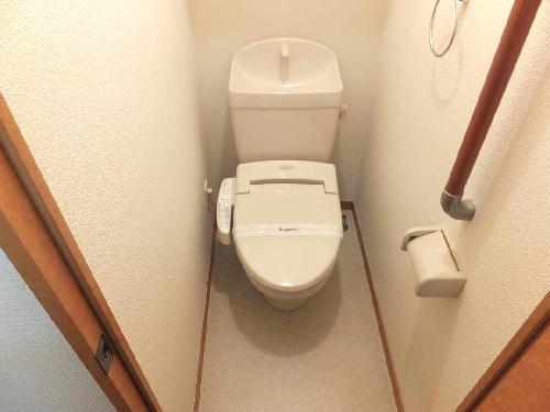 レオパレスメルベーユ泉 206号室のトイレ