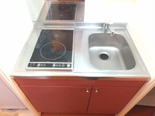 レオパレスメルベーユ泉 206号室のキッチン