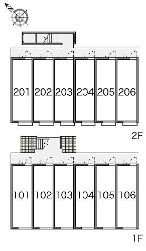 レオパレスメルベーユ泉 206号室のその他