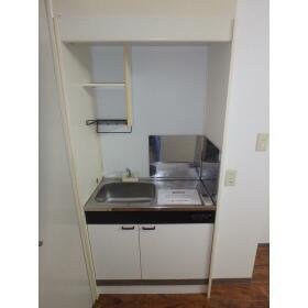 ホーユービル 402号室のキッチン