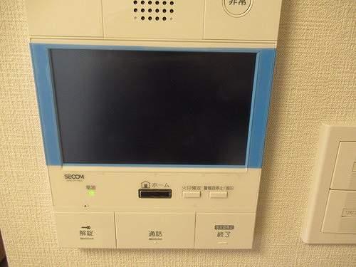 リビオレゾン上野 402号室のセキュリティ