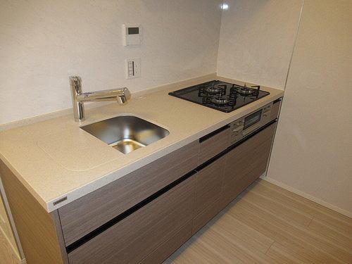 リビオレゾン上野 402号室のキッチン