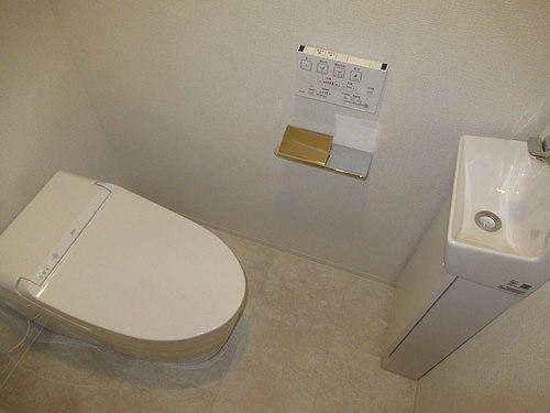 リビオレゾン上野 402号室のトイレ