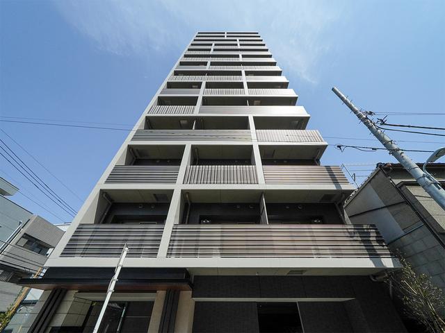 ライオンズフォーシア上野・稲荷町 1203号室の外観