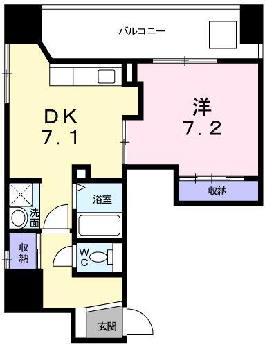 メゾン・日本橋浜町・04020号室の間取り