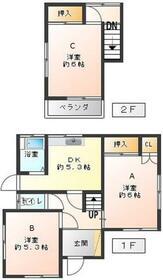 リプロハウス西新井・A号室の間取り