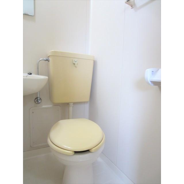 シティコート千駄木 203号室のトイレ