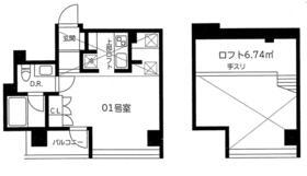 BEKKA須田町・1001号室の間取り
