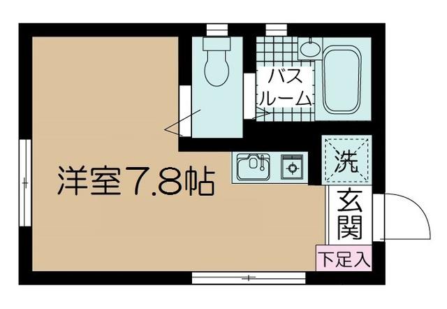 フェリーチェ荻窪Ⅱ 102号室の間取り
