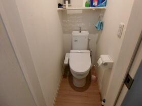 La・Sola西新井 1号室のトイレ