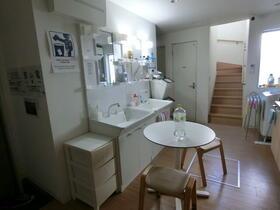 La・Sola西新井 1号室の洗面所