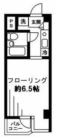 安田神保町マンション・602号室の間取り